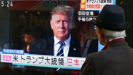 Trump au Japon : commerce, golf et sumo au programme