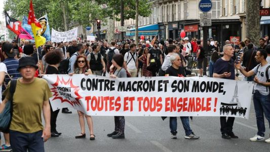 Manifestations contre Macron: 250.000 participants en France, selon la CGT
