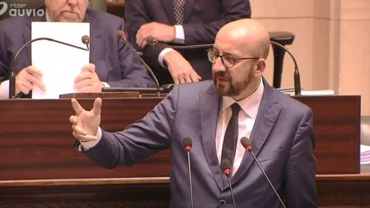 "Charles Michel: ""Je choisirai le camp du respect des institutions"""