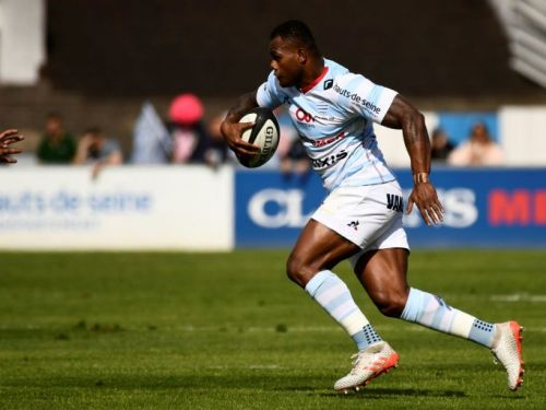 Racing 92: retour de Vakatawa contre Castres en Coupe d'Europe
