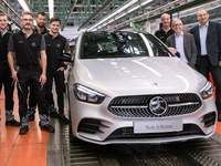 Mercedes lance la production du nouveau Classe B