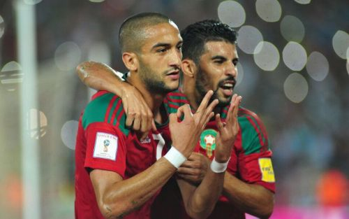 Football:  le Maroc bat la Serbie 2 à 1