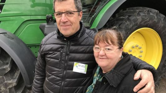 Willy Cuyckens a vendu plus de 2000 tracteurs