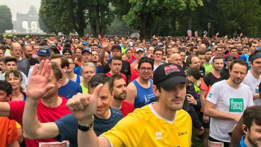 20 km de Bruxelles : 40.000 participants s'élancent en six vagues successives