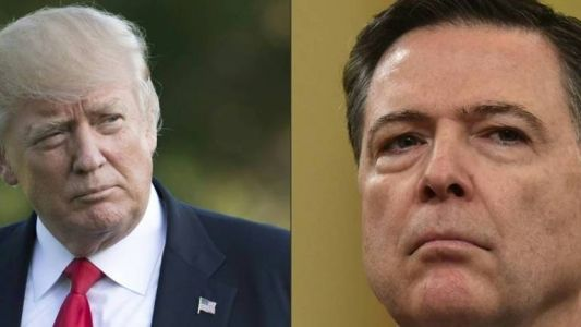 "Trump accuse l'ex-patron du FBI James Comey d'avoir ""protégé"" Hillary Clinton"