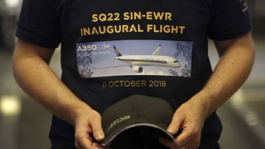 Singapore Airlines bat le record du vol commercial le plus long