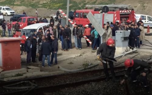 Six morts et 14 blessés dans l'accident d'un train à Tanger
