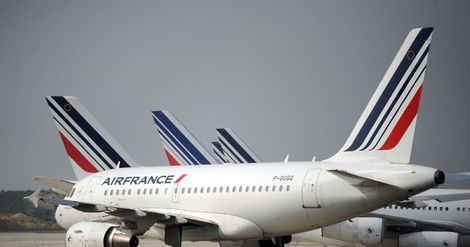 Air France:  signature d'un accord salarial pour les personnels au sol