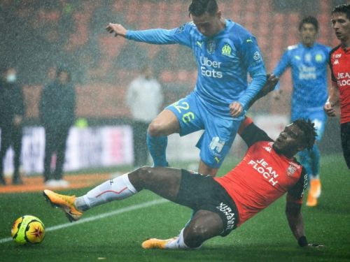 L1: Marseille bat Lorient 1-0 et poursuit sa remontée