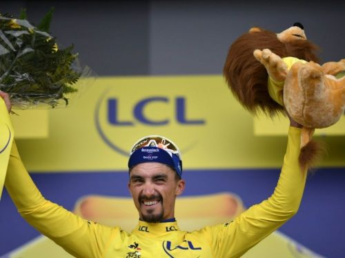 "Tour de France: ""J'ai payé mes efforts"", constate Alaphilippe"