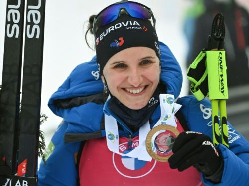 Biathlon: Julia Simon remet ça
