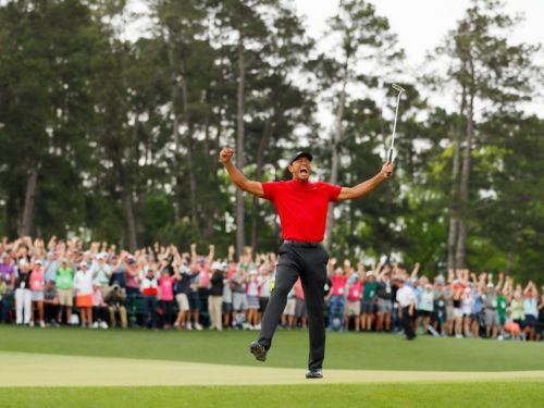 Masters: la victoire de Woods relance le business du golf
